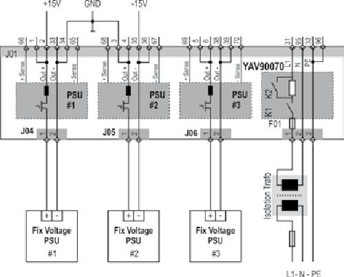 Primary fixed voltage