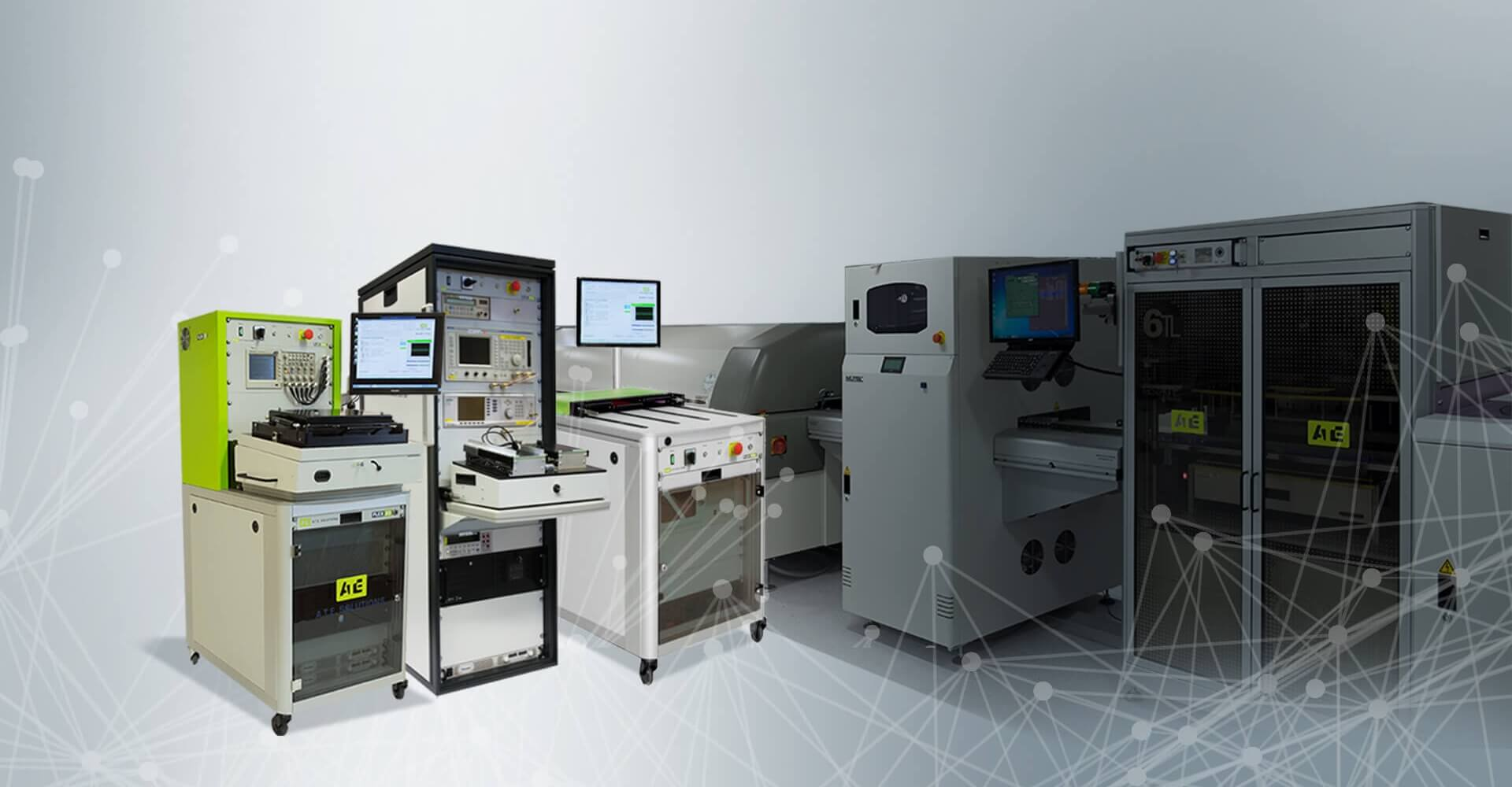ATE Solutions - Autormatic test equipment, test solutions and test applications provider